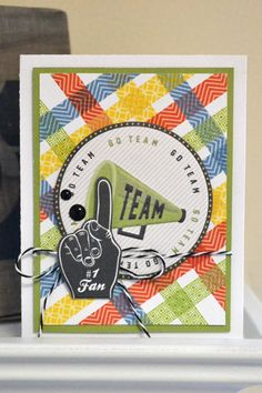 We R No 1 Fan Card by Aly Dosdall