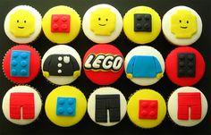 LEGO Cupcakes. Boys will love!