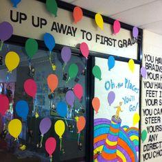 Kinder graduation door idea