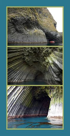 Basalt cave, Akun Island, Aleutian Islands, Alaska