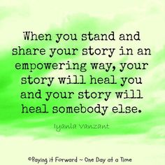 the power of healing in testimony