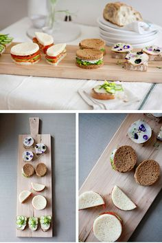 Exquisite sandwiches in Afternoon tea time recipes such as the preparation of ingredients step by step, how to cook and bake them