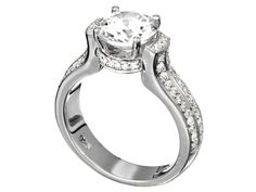 A dandy from Fana!! Think we'll get this for a 1 carat and a half carat!