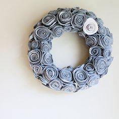 Rosette wreath