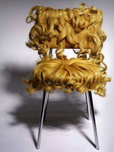modern furniture, interior design, inspiration, hair chair, chairs, blondes, lock, chair design, blog