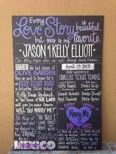 Custom HandPainted 20x30 WEDDING POSTER for by WhatchawantDesign, $120.00