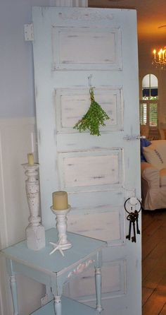 sold   shabby chic furniture  door distressed by backporchco on Etsy, $195.00