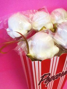 Movie Theater Popcorn Cake Pops.