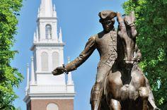 bucket list, boston, north church, scavenger hunts, churches, budget travel, paul rever, statu, place