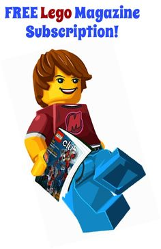 FREE Lego Magazine Subscription! {the kids will love this!} #legos #thefrugalgirls