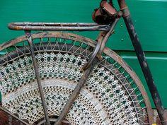Bike crochet love