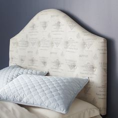Pier 1 Frenchy Upholstered Headboard