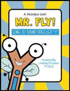 Mr. Fly! (Long /i/ Sound Spelled Y) | The Teacher Wife | {K-2}