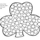 Roll and Cover Shamrock is a printable center activity for prek or kindergarten students. Your students will roll a dice and then cover up the sam...