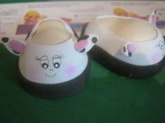 Tutorial (PaP) Desde Cero de Estos Zapatos De Fofucha Vaquita Foami