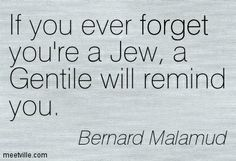 Bernard Malamud on identity