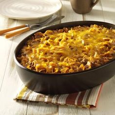 beef nodl, ground beef dishes, casserole with beef, main dishes with ground beef, hambutg skillet