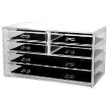 Acrylic Deluxe 6-Drawer Jewelry Chest