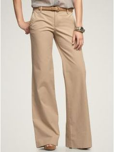 love the wide leg for work or weekends with converse.