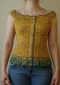Corset pattern  Knit Sweater #2dayslook #KnitSweater #watsonlucy723 #lily25789 #anoukblokker     www.2dayslook.com