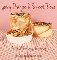 I love the Soap Queen! http://www.soapqueen.com/bath-and-body-tutorials/cold-process-soap/juicy-orange-sweet-rose-cold-process/