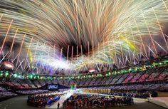#London 2012 Olympic Closing Ceremony. Spectacular!