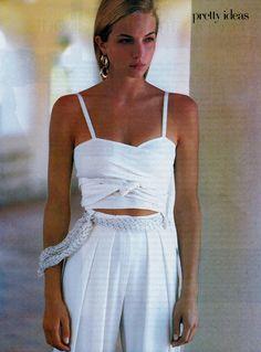 Rachel williams by Patrick Demarchelier, 1988