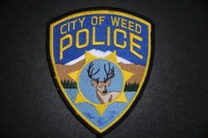 Weed Police Patch, Siskiyou County, California