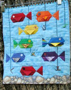 Cute Mini Fish quilt