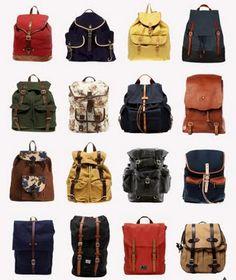 Backpack fetish!