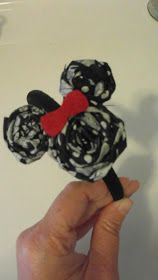 I saw that going differently in my mind...: DIY Disney headband