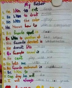 On mortality:   23 Insightful Journal Entries From Elementary Schoolers