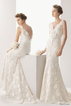 soft by rosa clara 2014 bridal urano guipure lace sleeveless weddng dress