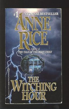 I liked the vampire books but loved the witch series. The Witching Hour. Lasher. Taltos. I still have this paperback somewhere in a box...