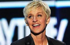 Ellen DeGeneres....soooooo funny!!!