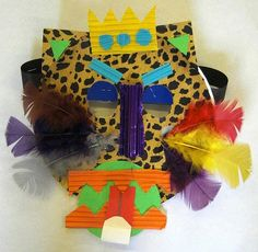 African Masks by Kilry Primary School