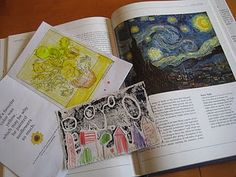 Fantastic Lesson and Project for Van Gogh !