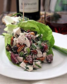 Cherry, Pecan & Tarragon Chicken Salad (GAPS, Paleo, Egg Dairy Free)
