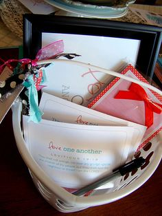 Love One Another Activity Days Basket