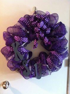 KSU wreath