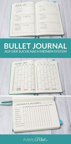 Bullet Journal – auf