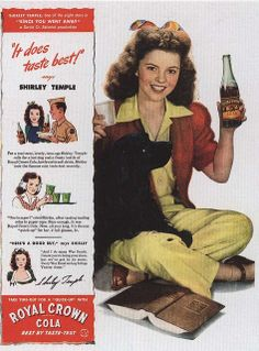 Shirley Temple for  RC Cola , 1944