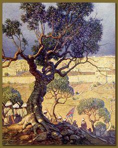 (1918) by N.C. Wyeth #tree #art