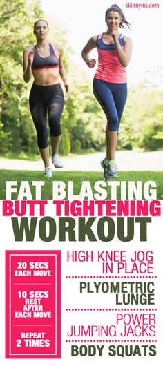 Done regularly, this Fat Blasting, Butt Tightening Workout will give you amazing legs & will tighten your butt!  #legs #butt #workout