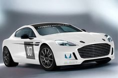 Aston Martin to Race World's First Hydrogen-Powered Rapide S at the Nürburgring