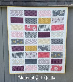 Baby Cakes quilt by Material Girl Quilts, via Flickr