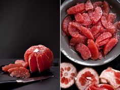 Who knew grapefruit could look this hawt? Looks so luscious.