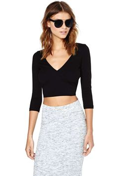 Nasty Gal Zoe Crop Top - Tops |  | Clothes | Newly Added