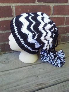 Convertible Chevron Slouch and Cowl