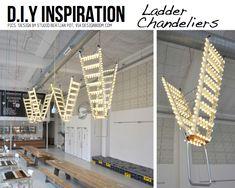 Ladder chandeliers